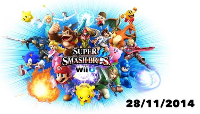 Super Smash Bros. for Wii U arrives November 28 in Europe