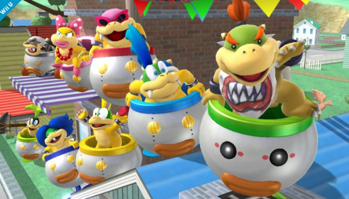 Super Smash Bros. – Bowser Jr., Secret Fighter Screenshots