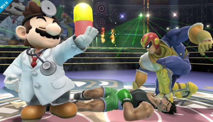 Super Smash Bros. – Dr. Mario, Secret Fighter Screenshots