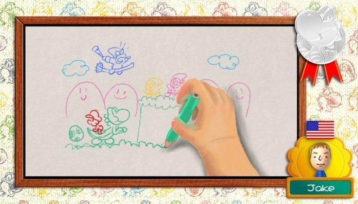 Play Nintendo: Yoshi by Art Academy SketchPad