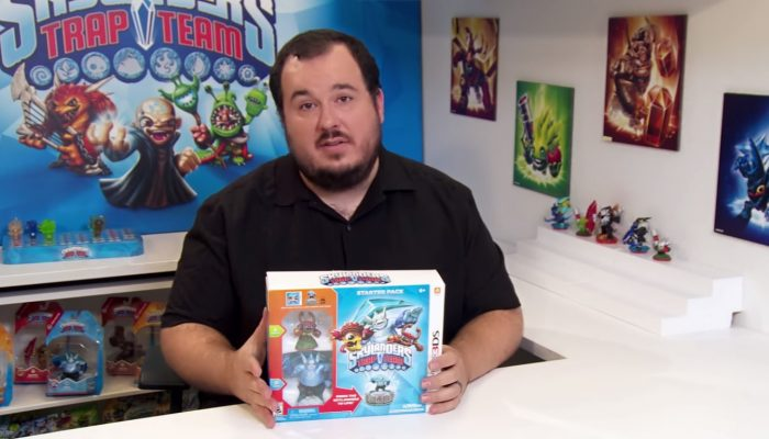 Skylanders Trap Team – 3DS Edition Starter Pack Unboxing