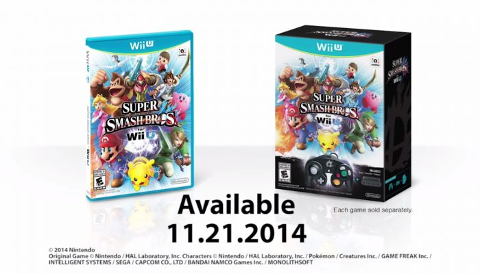 Super Smash Bros. for Wii U – Launch Date Trailer