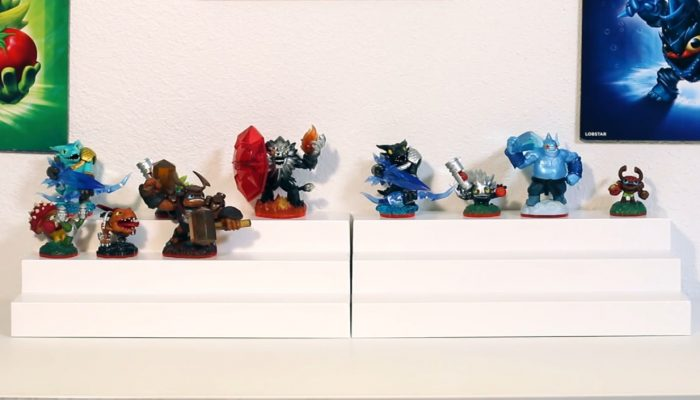 Skylanders Trap Team – Wallop, Chopper, S2 Shroomboom and Trap Packs Unboxing