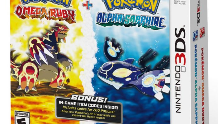NoA: 'Catch The Pokémon Omega Ruby And Pokémon Alpha Sapphire Dual Pack To Receive An In-Game Bonus'
