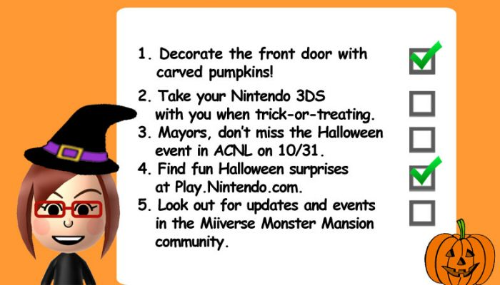 Amy from Miiverse also presents the Miiverse Monster Mansion