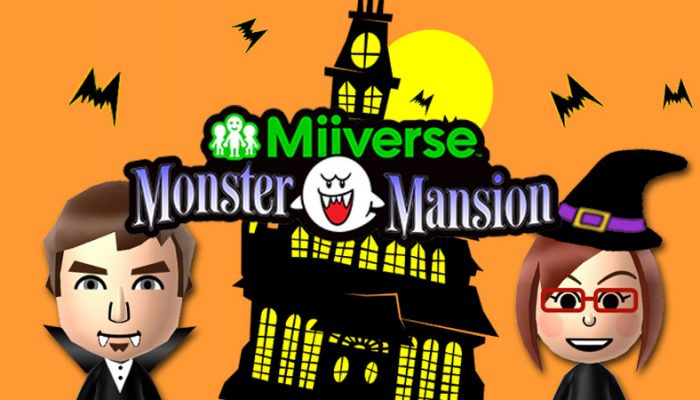 Tom from Miiverse announces the Miiverse Monster Mansion