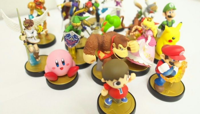 amiibo – Pictures from 4Gamer