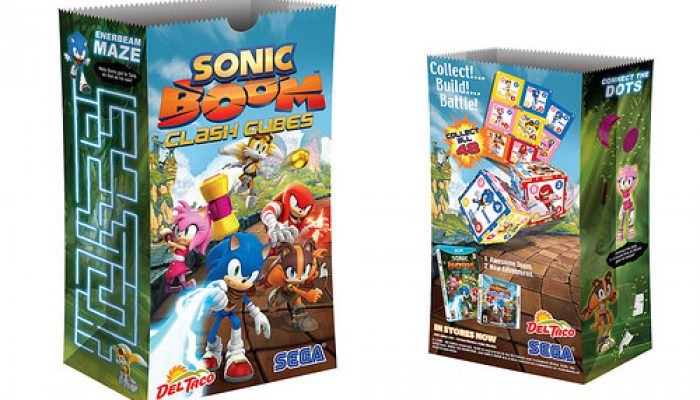 SEGA: 'SEGA Reveals Sonic Boom Merchandise Program'