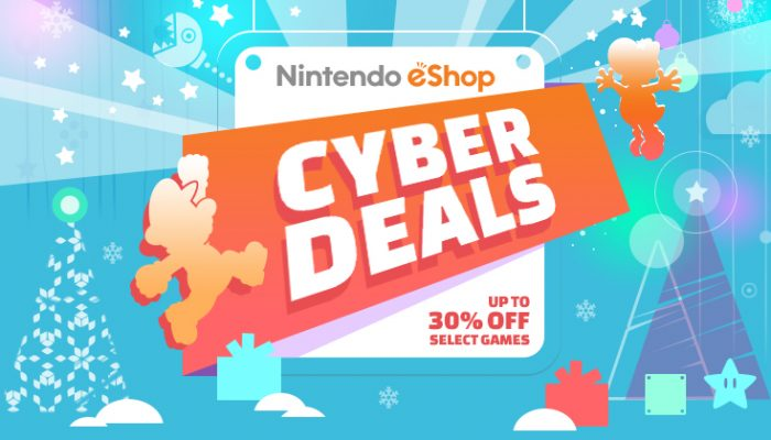 NoA: 'Nintendo eShop Cyber Deals are coming!'