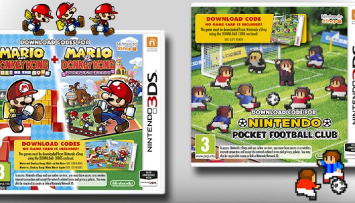 Nintendo France : 'Les jeux phares du Nintendo eShop débarquent en boutique le 16 janvier !'