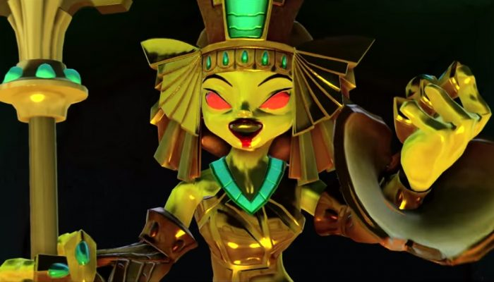 Skylanders Trap Team – Meet the Villains: Golden Queen