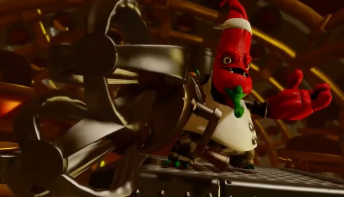 Skylanders Trap Team – Meet the Villains: Chef Pepper Jack