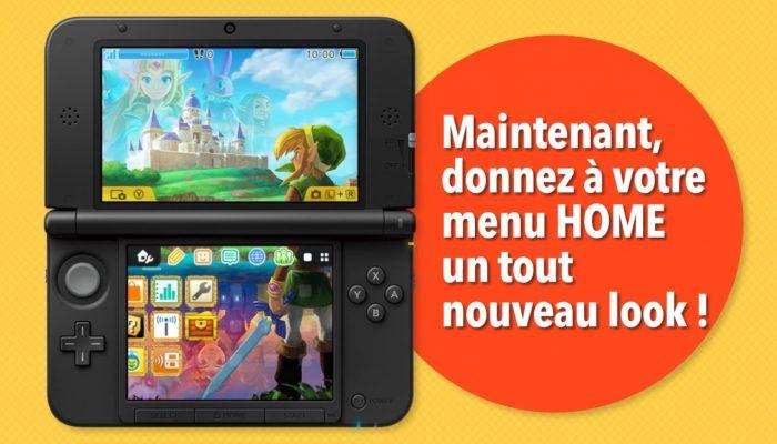 Nintendo 3DS – Bande-annonce La boutique de thèmes