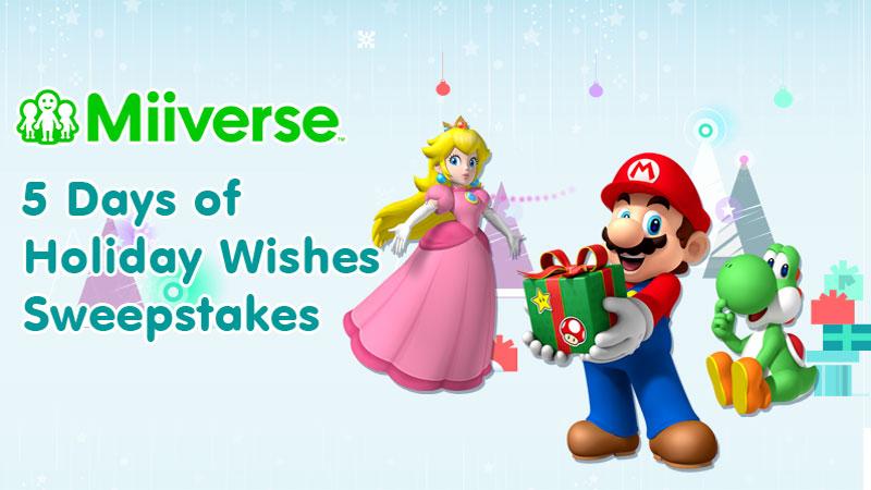 Miiverse Holiday Wishlist