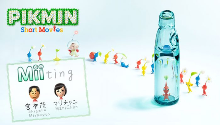MariChan's Pikmin 'Miiting' with Shigeru Miyamoto on Miiverse