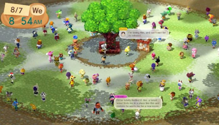 Animal Crossing New Leaf producer Aya Kyogoku reminds of Animal Crossing Plaza closing this month on Miiverse