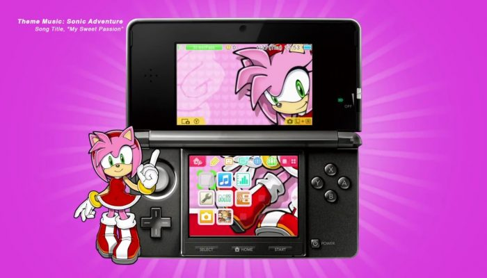 Sonic the Hedgehog Nintendo 3DS Themes