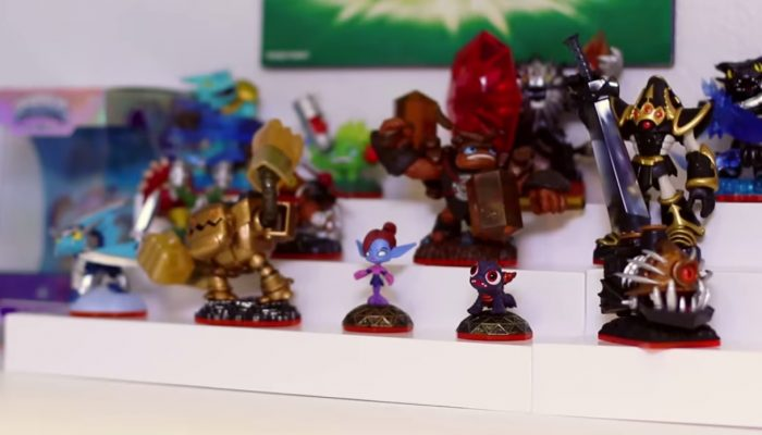 Skylanders Trap Team – Wildfire, Tread Head and Earth Element Minis Unboxing