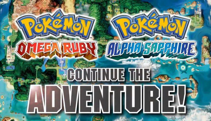 Pokémon ORAS – Catch 'Em All Trailer