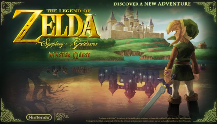 NoA: 'The Legend Of Zelda: Symphony Of The Goddesses Master Quest Touring In 2015'