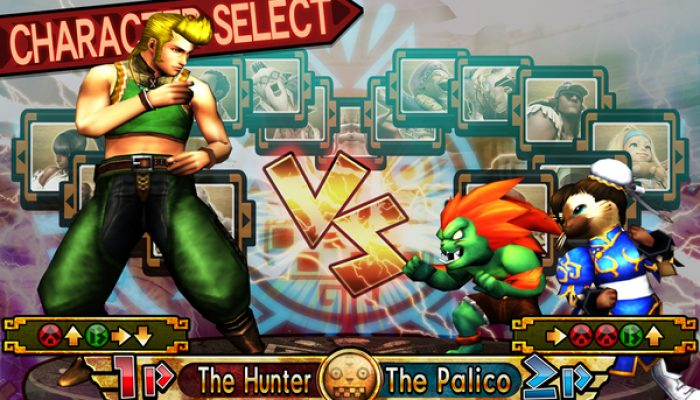Capcom: 'Here come two new challengers: Blanka and Chun-Li Felyne Palicoes for MH4U'