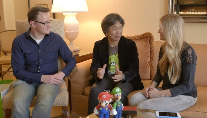 iJustine interviews Shigeru Miyamoto with Bill Trinen