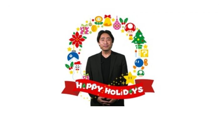 NoE: 'Christmas greetings from Satoru Shibata!'