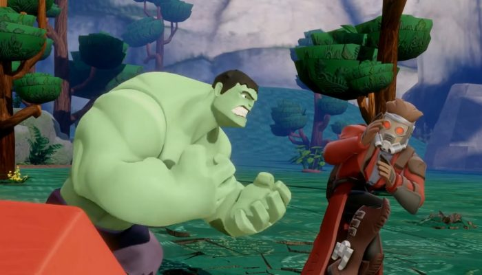 Disney Infinity 2.0 – IN Moments: Building with Hulk and Guardians of the Galaxy