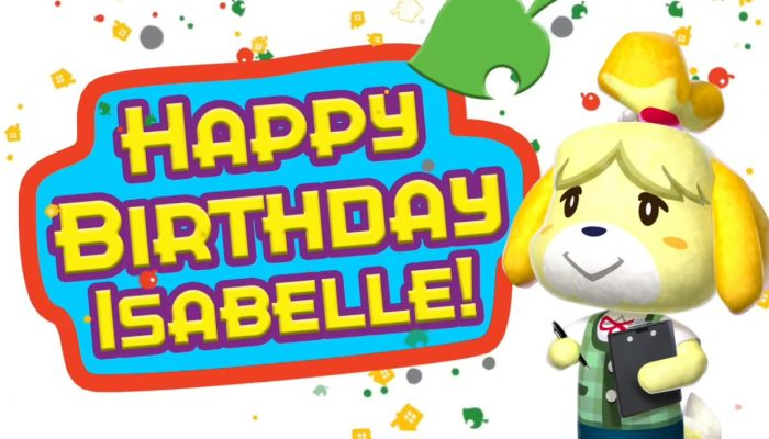 Animal Crossing: New Leaf – Happy Birthday Isabelle!