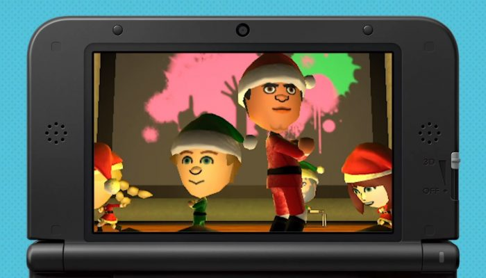 Tomodachi Life – Holiday Wish List with Reggie and the ELVES