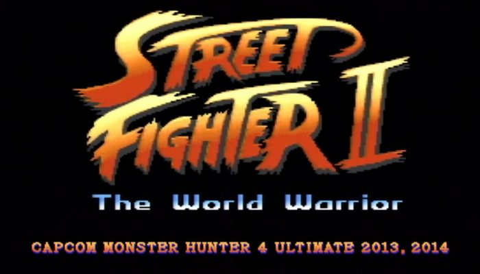 Monster Hunter 4 Ultimate – Street Fighter II Collaboration Trailer