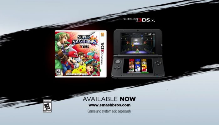 Super Smash Bros. for Nintendo 3DS – New Commercial