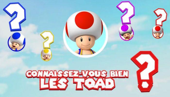 Captain Toad : Treasure Tracker – Retour sur l'histoire des Toad
