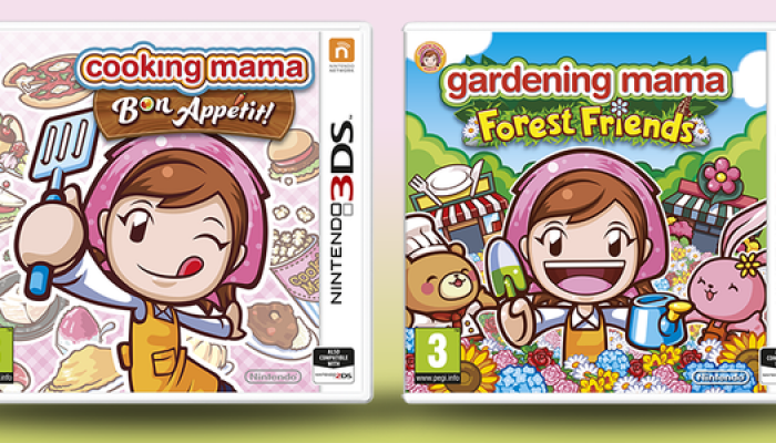 NoE: 'Get creative and have fun alongside the legendary Mama in Cooking Mama: Bon Appétit! and Gardening Mama: Forest Friends'