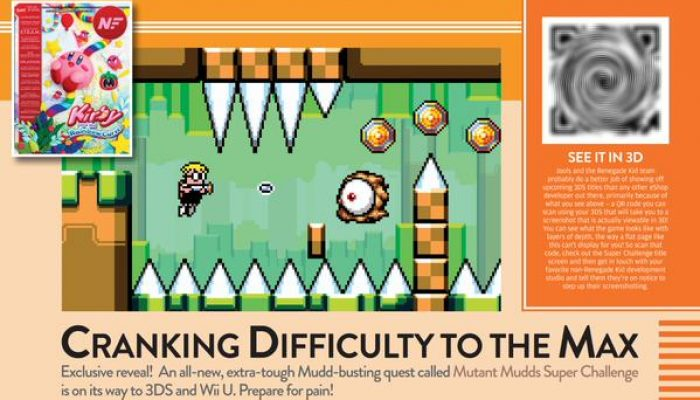 Mutant Mudds Super Challenge announced for Wii U and Nintendo 3DS