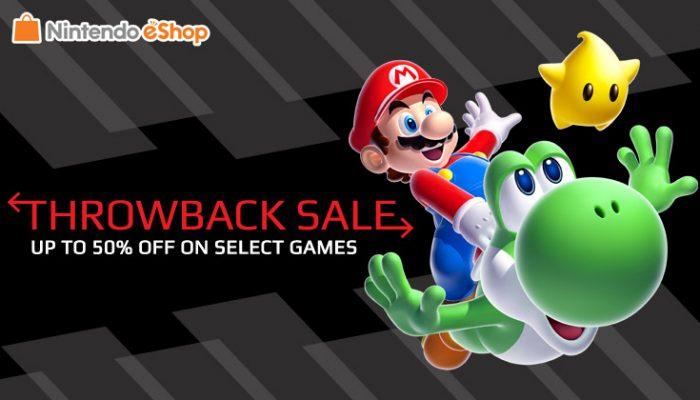 NoA: 'Throwback Sale on Nintendo eShop'