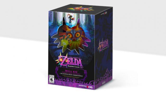 NoA: 'The Legend of Zelda: Majora's Mask 3D limited-edition bundle'