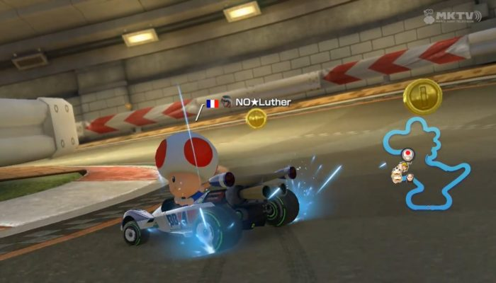 Mario Kart 8, Unstoppable on Yoshi Circuit