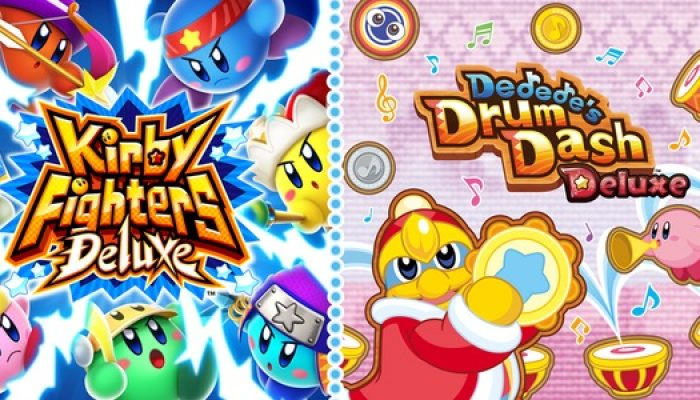Kirby Fighters Deluxe & Dedede's Drum Dash Deluxe release in Europe February 13