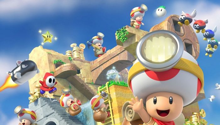 NoE: 'In shops and on Nintendo eShop now: Captain Toad: Treasure Tracker'
