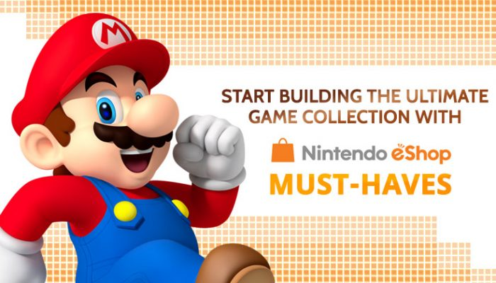 NoA: 'Start building the ultimate game collection with Nintendo eShop must-haves'