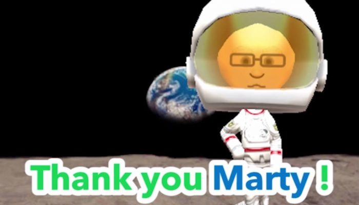 Marty from Miiverse is going to space