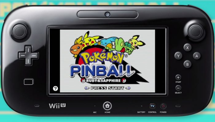 Pokémon Pinball: Ruby & Sapphire – Virtual Console Trailer