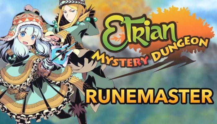 Etrian Mystery Dungeon – Runemaster Class Trailer