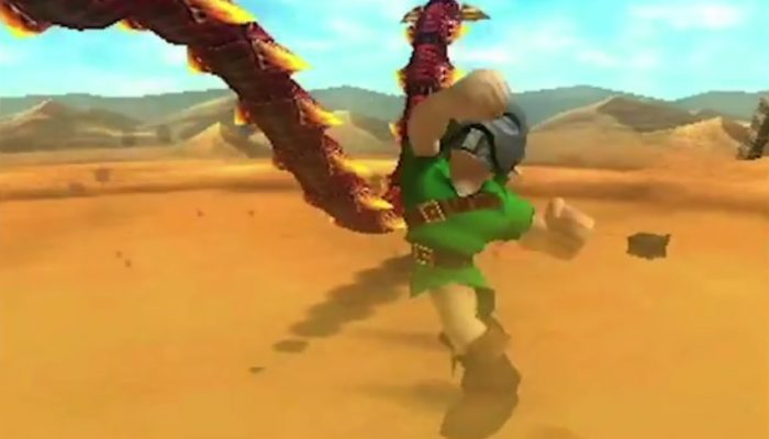 The Legend of Zelda : Majora's Mask 3D – Bande-annonce de gameplay