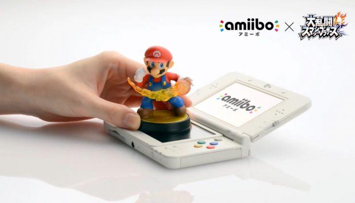 Super Smash Bros. for Nintendo 3DS – Japanese amiibo Trailer