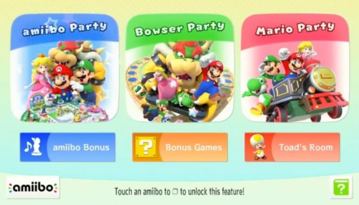 NoE: 'Bring along your amiibo as your party plus-one from 20th March in Mario Party 10'