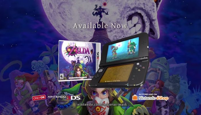 The Legend of Zelda: Majora's Mask 3D – Accolades Trailer