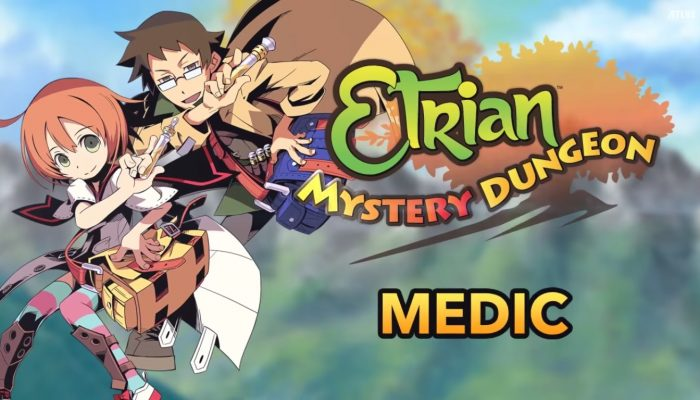Etrian Mystery Dungeon – Medic Class Trailer