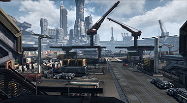 Xenoblade Chronicles X Neo Los Angeles Areas Screens And Footage